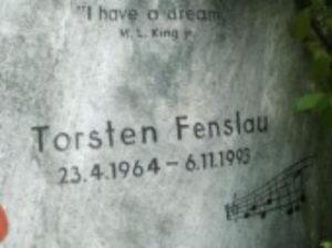 Grabstein von Torsten Fenslau